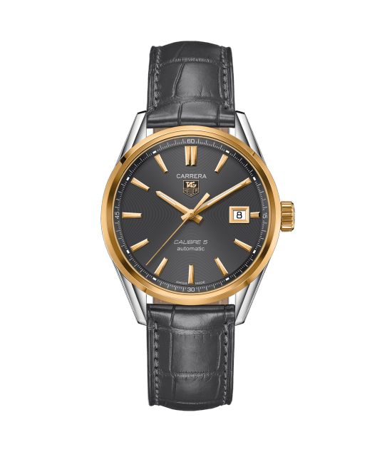 TAG Heuer Carrera Calibre 5 Automatic Watch 100 M - 39 mm WAR215C.FC6336 TAG Heuer watch price