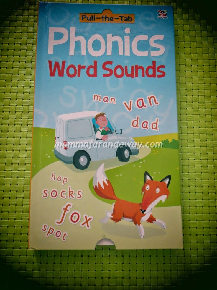 Un modo simpatico per imparare un po' di fonetica inglese con i piu' piccoli. Della stessa serie anche il libro delle tabelline.