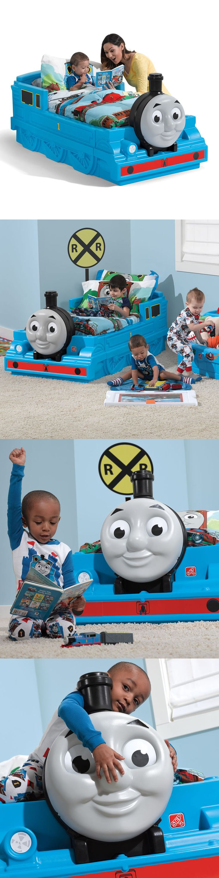 Kids Furniture: Step2 Thomas The Tank Engine™ Toddler Bed Kids Furniture BUY IT NOW ONLY: $165.99
