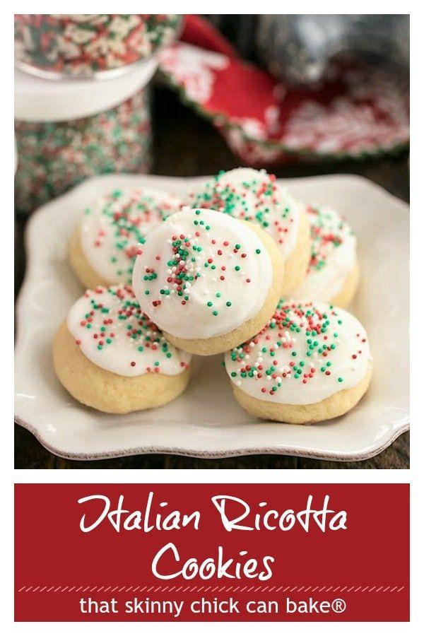 Tender Irresistible Frosted Italian Ricotta Cookies An Italian