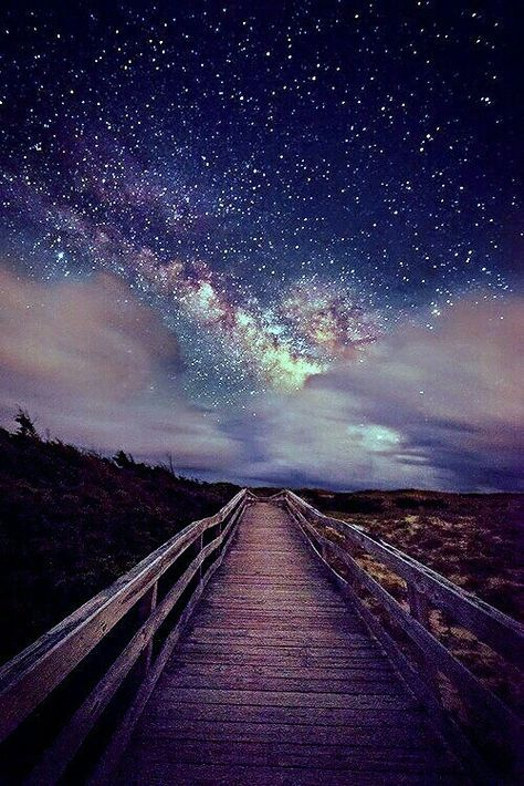 On a Trail with the Stars - See 12 Pictures of Space...