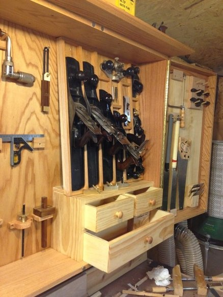 Wall Hanging Tool Cabinet Woodworking Projects Amp Plans