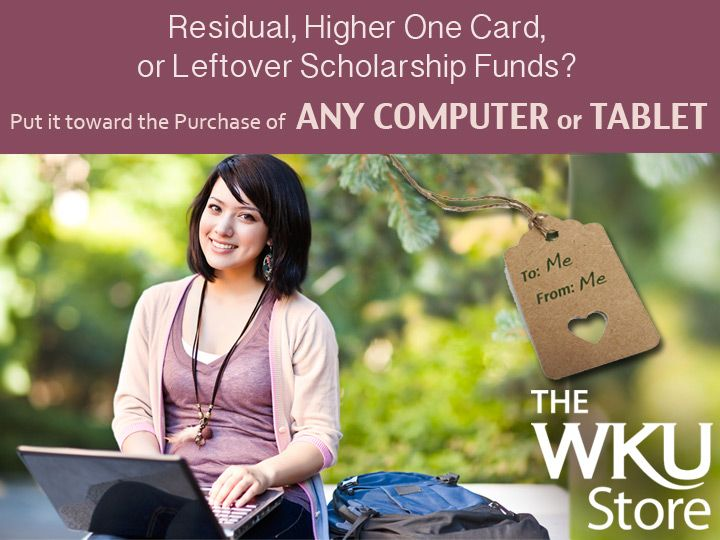 Ask us about using your University Bill when purchasing a computer or tablet.