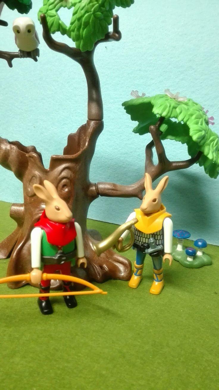 Fantasy Rabbit Warriors by Diktor Toys CUTOMIZED PLAYMOBIL #playmobil #gamemobilknights #rabbit