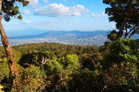 View of San Salvador, taken from El Parque Nacional El Boqueron