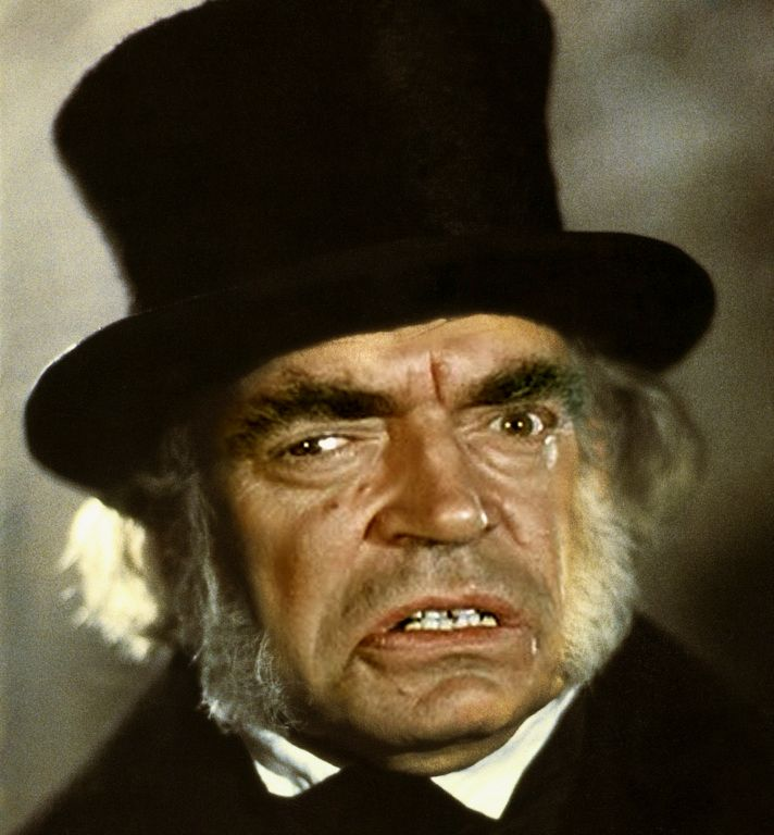 Jack Elam as Scrooge  Questionable Christmas some adult