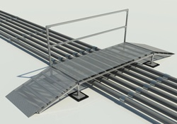 Rooftop Crossover Ramp Support Rooftop Support Systems