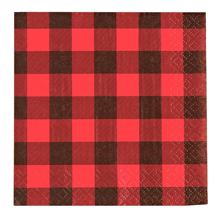 LumberJack Beverage Napkins, 90326. Clearance 99 cents.