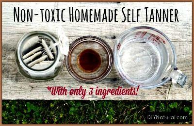Homemade All-Natural Self Tanner Recipe– A Natural DIY Sunless Tan