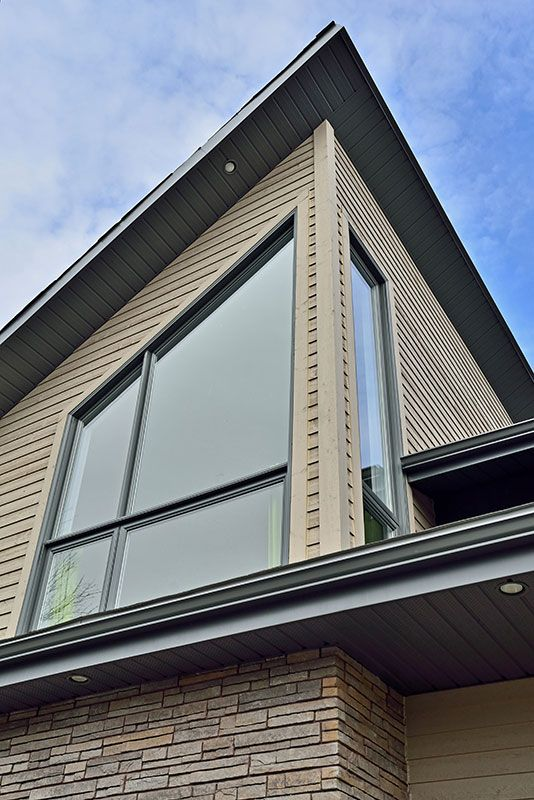 #fenêtre #windows #maison #house #contemporain #contemporan #laurentides