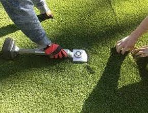Professional artificial grass installation in Ireland - http://lynscoartificialgrass.ie/services/full-installation/  #ArtificialGrass