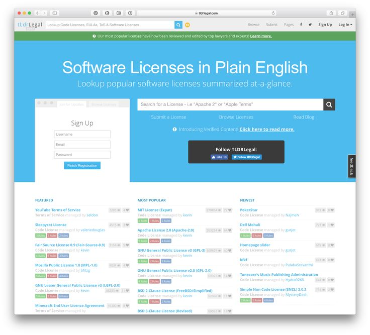 Itips Tldrlegal Software Licenses Explained In Plain English