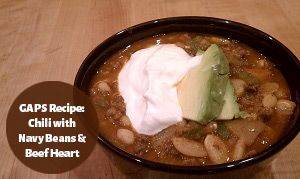 GAPS Recipe: Chili with Navy Beans