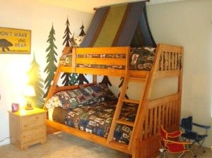 cool Camping Themed Kids room ideas