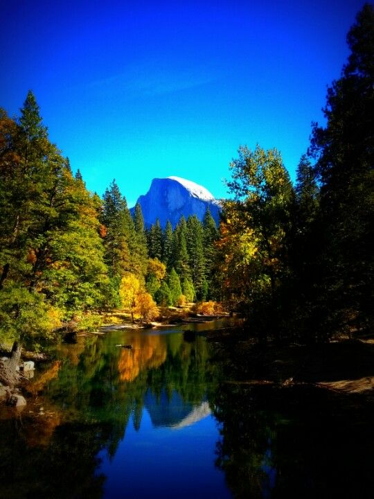 Yosemite National Park in Yosemite National Park, CA. I have seen half dome once and it is memorable!! What a sight!