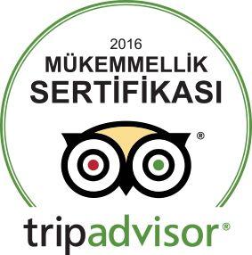 """Değerli Misafirlerimiz, Dünyanın en önemli online yorum sitesi olan Tripadvisor.com'dan Otelimiz Troya Hotel Taksim'in """"Mükemmellik Sertifikası 2016"""" kazandığını onurla bilgilerinize sunarız. Bu mükemmel puanlar ve yorumlar için tüm misafirlerimize teşekkür ederiz."""