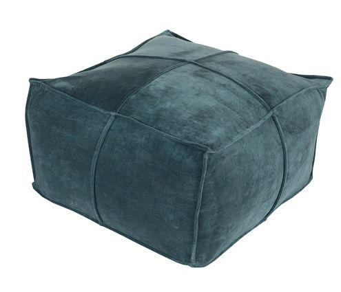 Ella Velvet Pouf - Joss and Main