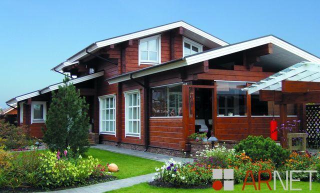 Чай с малиновым вареньем, дом 160 кв.м