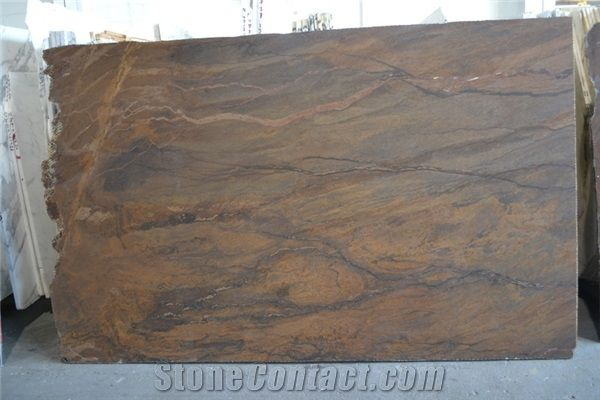 Bronzite Exotic Granite Slabs Brazil Brown Granite From