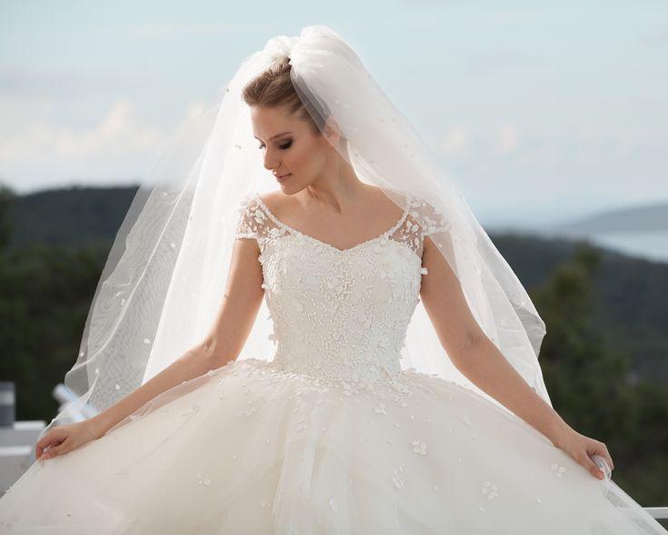 en güzel prenses modeli gelinlikler-prenses gelinlik 2016-nova bela nişantaşı istanbul