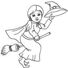 Ms de 25 ideas increbles sobre Dibujo de bruja en Pinterest