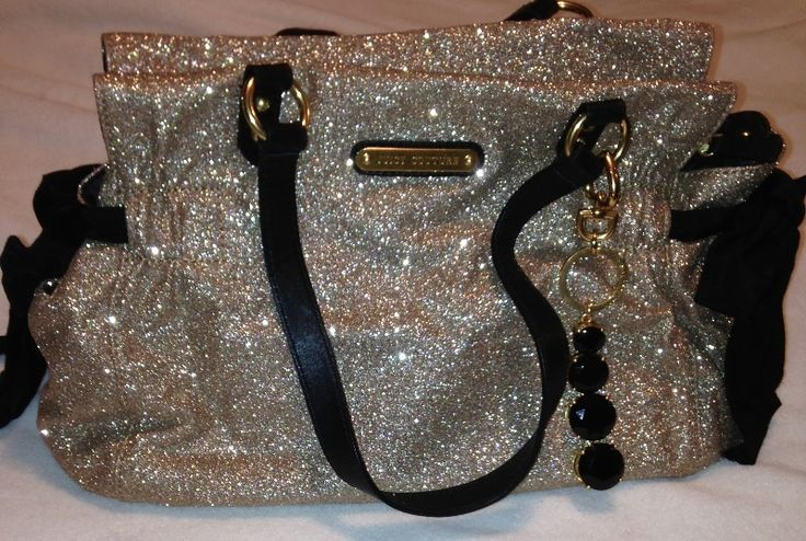 First time that I actually own something that's on pinterest! love my Juicy Couture glitter handbag<3