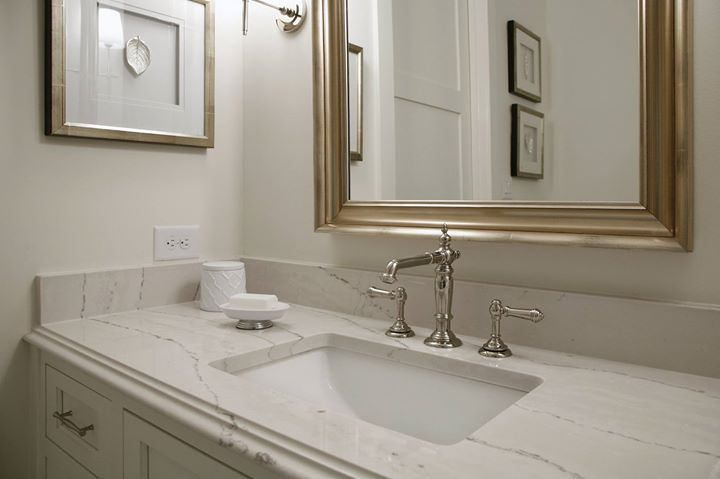 Cambria ella master bath for Bathroom ideas with quartz