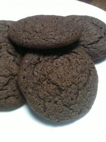 Chocolate Cookies W/Hershey s Cocoa Powder. Just made these but used splenda instead of sugar. Yum Yum Yum.