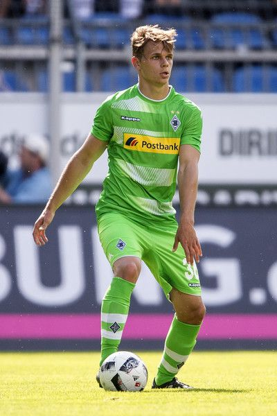 Nils Ruetten of Borussia Moenchengladbach during the friendly match between SV Waldhof Mannheim and Borussia Moenchengladbach at Carl-Benz Stadium on July 9, 2016 in Mannheim, Germany.