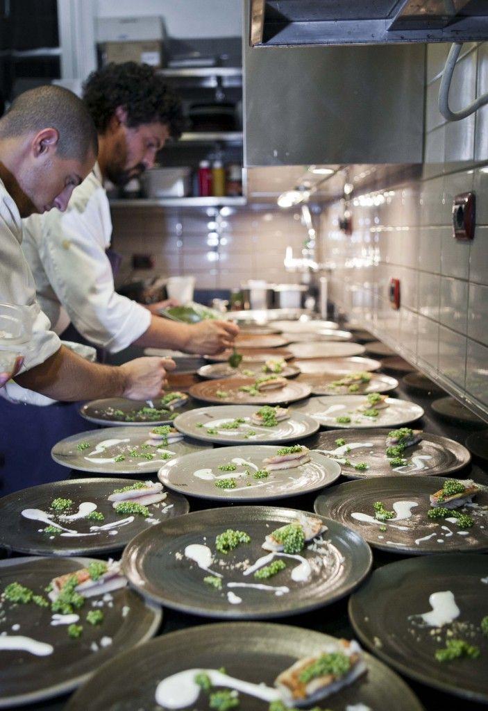 Ristorante Settembrini - Roma  -  chef: Piergiorgio Parini (Osteria al povero diavolo) Piatti: L' arte nel pozzo - settembre 2013