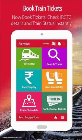 This app is faster and easier than the Indian Railway websites and is very easy to access. So for latest information on Indian Railway and PNR Status, all Railyatri should download this app.