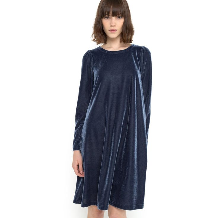 Платье из велюра Mademoiselle R | купить в интернет-магазине La Redoute