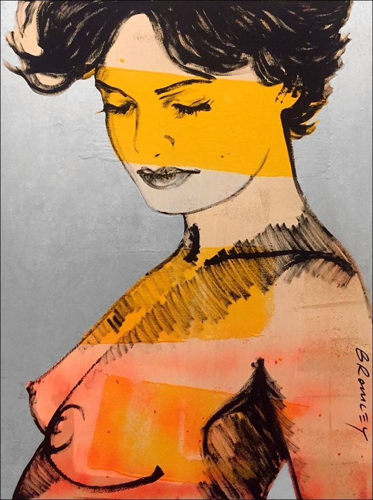 DAVID BROMLEY Nude Charlotte Polymer