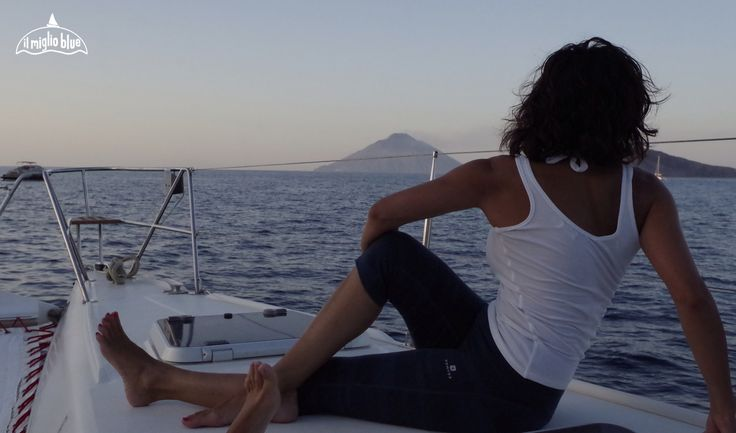 sailing and yoga in the Aeolian Islands, Sicily