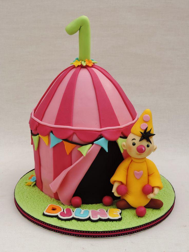 bumba tent cake
