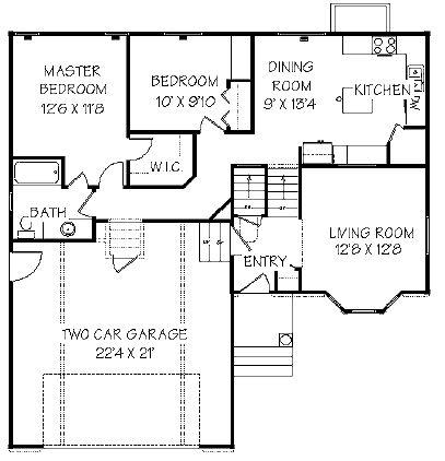 16 best Split level floor plans images on Pinterest Flooring - best of blueprint design for mac