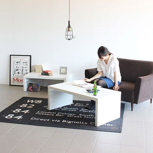 ローテーブル おしゃれ 白 鏡面 | アーネインテリア公式通販