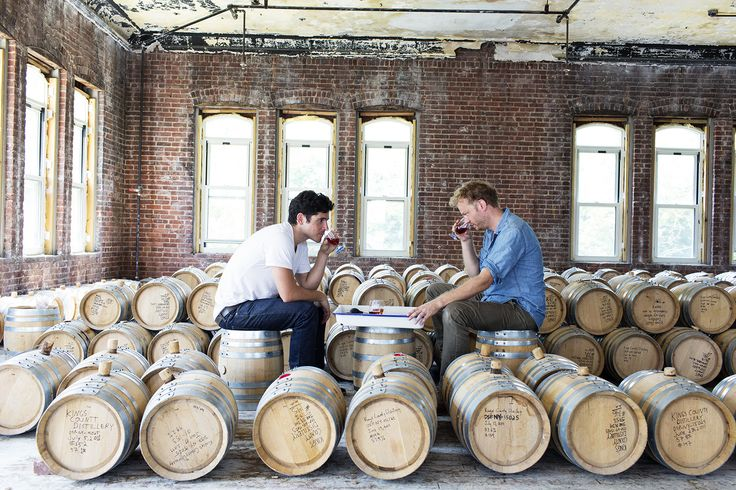 Colin Spoelman and David Haskell at Kings County Distillery « the selby