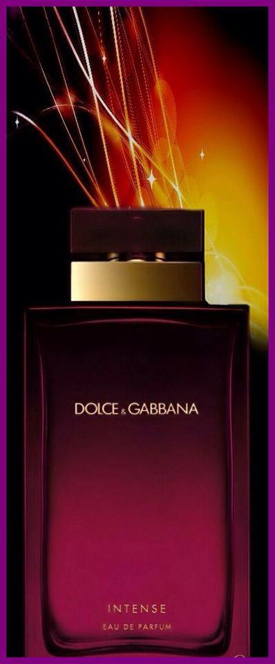 Dolce & Gabanna's Intense Eau de Parfum. Keva xo.