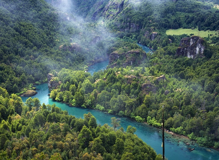 Rio Futaleufu, Chile-premier whitewater rafting destination, with Earth River Expeditions