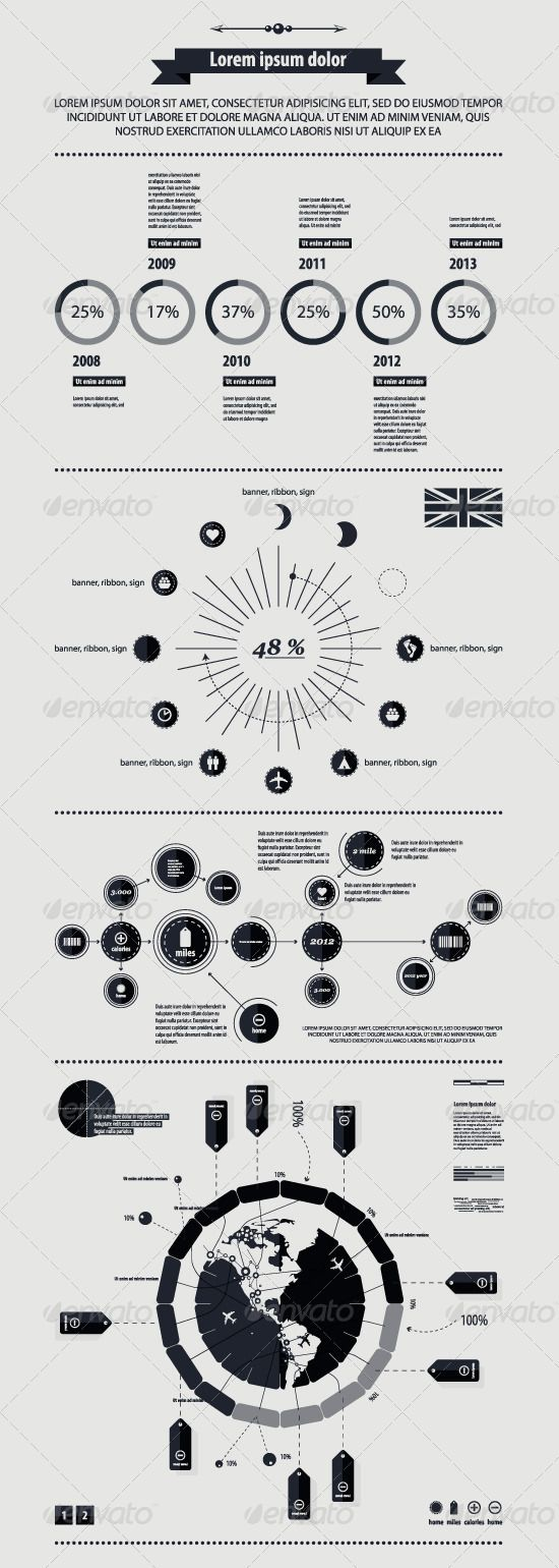 Elements of infographics with a map of America in  — EPS Template #graph #information • Download ➝ https://graphicriver.net/item/elements-of-infographics-with-a-map-of-america-in-/788522?ref=pxcr