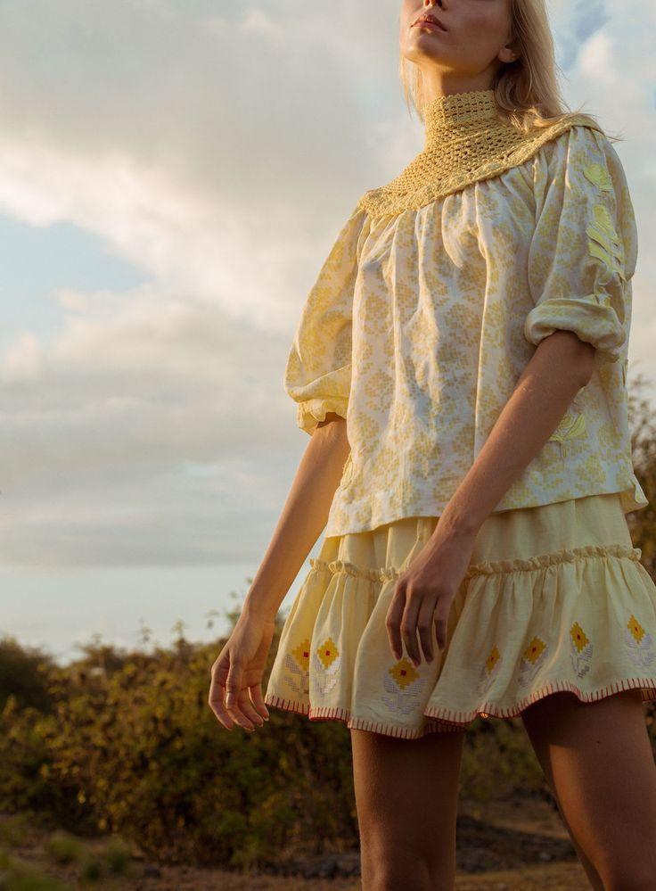 Innika Choo Summer 2017..Love the skirt