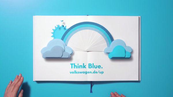 Think Blue. Book