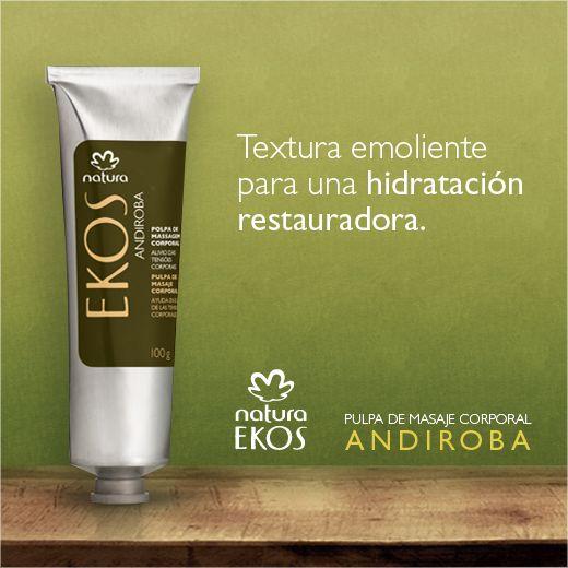 Propiedades hidratantes extraídas de la biodiversidad brasileña.  Natura Ekos, ¡cuídate, cuidando el planeta!