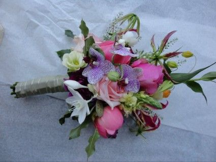 nice wedding bouquet made by Don Florito Amsterdam