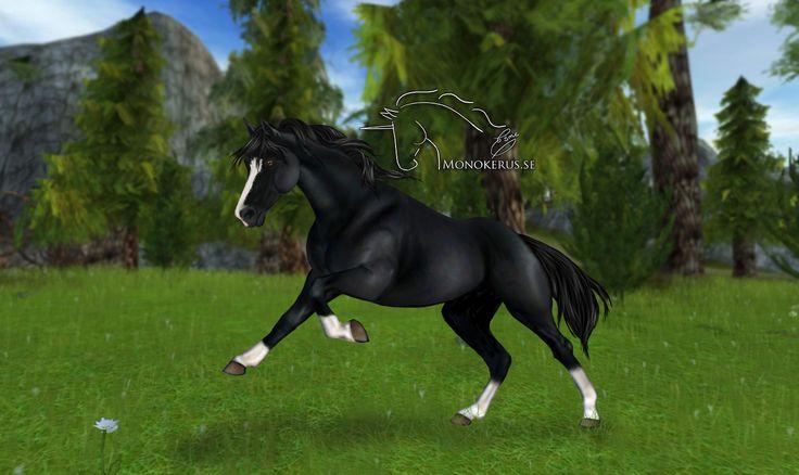 Black Oldenburg From Star Stable Online Edit C Esme Silverforce