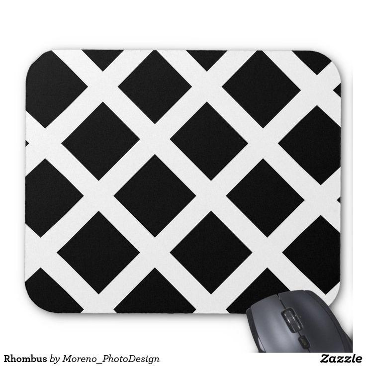 Rhombus rhomb, rhombus, triangle, geometric, black, white, geo,mug, girl, children, childrenhood, gift, school, girly, woman, alfombrillas, accesorios, ordenador, portatil, raton, mouse, computer, man, rug, minimal,