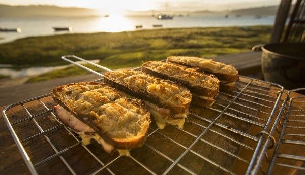 Luxury braai broodjies. This has to be the best part about any traditional South African braai #braai #heritageday #recipes