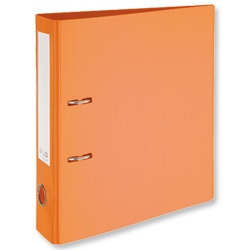 Product 103314, Description: GLO Lever Arch File Polypropylene A4 Orange [Pack 10]