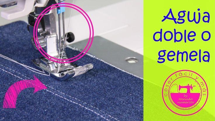 Cómo coser con una aguja doble o gemela y para qué sirve